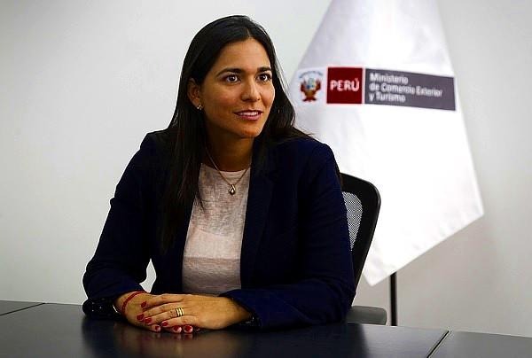 La viceministra de Turismo, Liz Chirinos