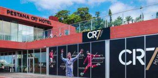 """Cristiano Ronaldo y su sexto hotel """"CR7"""" en París"""