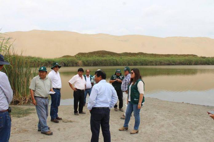 Autoridades se reúnen ante problemática de la Laguna Morón