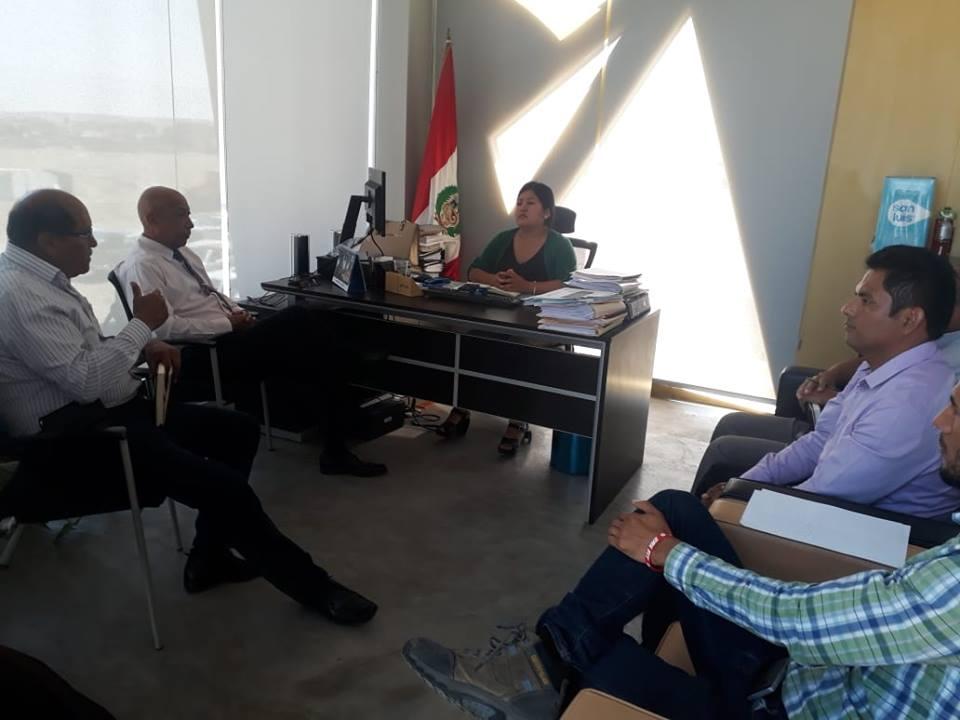 PARACAS: Autoridades coordinan acciones para erradicar la informalidad