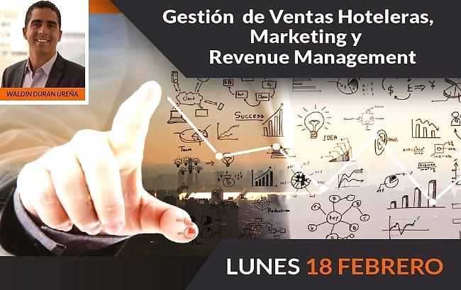 """""""Gestión de Ventas Hoteleras, Marketing y Revenue Management"""""""