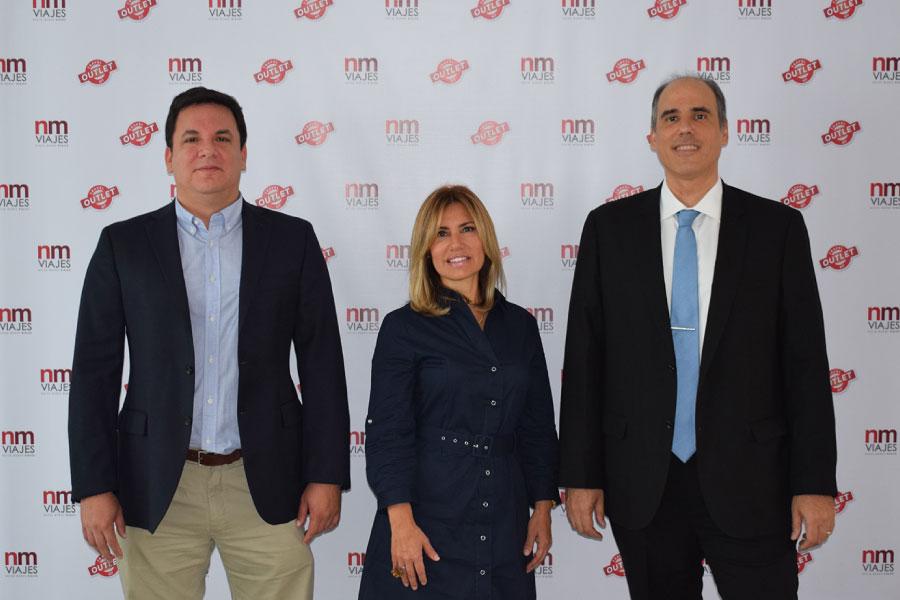 Giorgio Benza, Marisol Chiroque y Ariel Vega