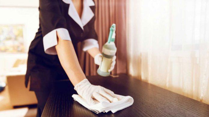 Limpieza en hoteles covid19