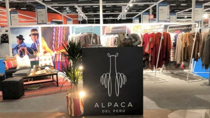 Perú participa con la marca Alpaca del Perú y genera interés en la feria París.