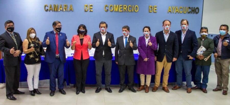 Proximamente nueva ruta aérea Lima-Ayacucho-Cusco para el primer semestre 2022.